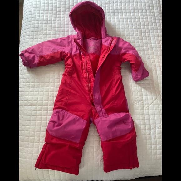 L.L Bean baby snowsuit